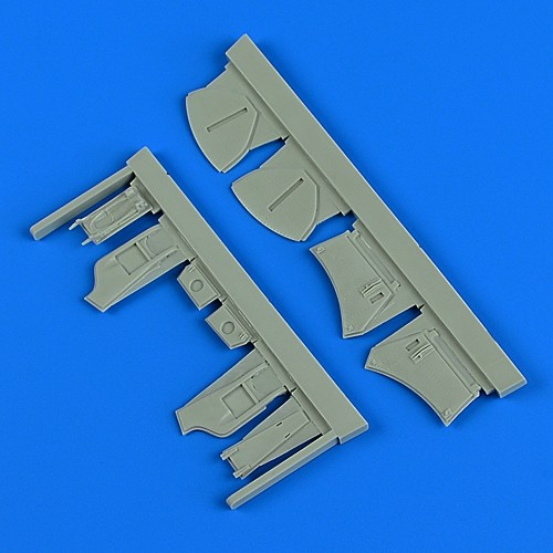 Hawker Hunter F.4/F.6 undercarriage covers (Airfix)