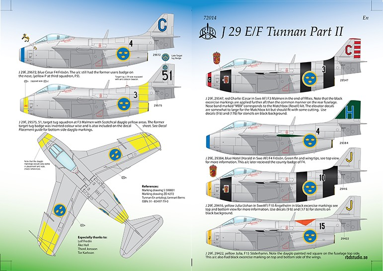 SAAB 29E/F Tunnan part 2