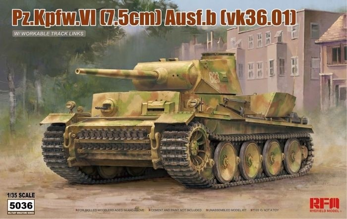 Panzer VI Ausf. B (VK36.01)