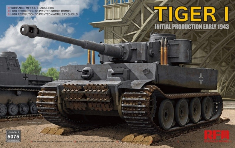 Tiger I 100# initial prod, early 1943