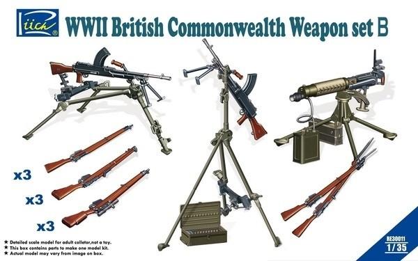British Commonwealth Weapon Set B