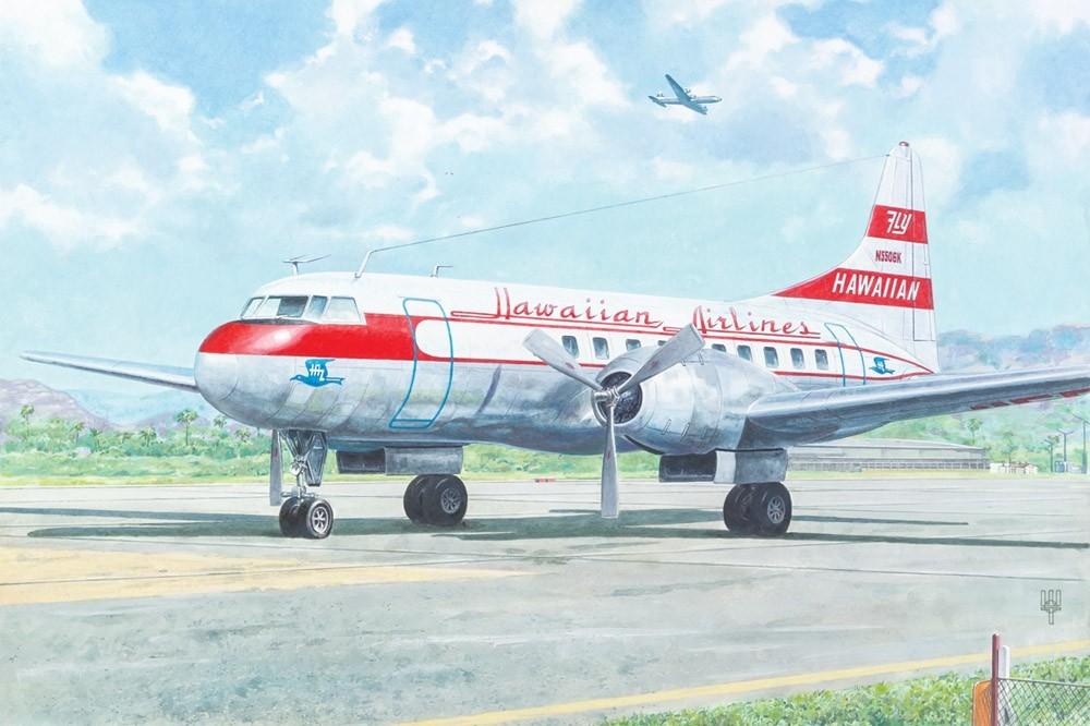 Convair CV-340 N5506K Hawaian Airlines USA 1956