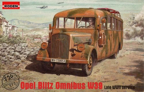 Opel Blitz Omnibus W39 Late WWII Service