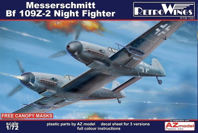 RetroWings Bf109Z-2 Night Fighter SE INFO