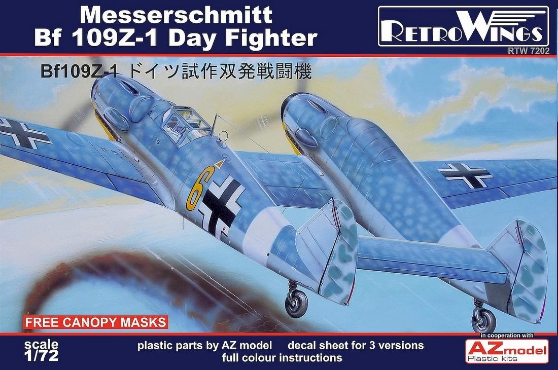 RetroWings Bf109Z-1 Day Fighter SE INFO