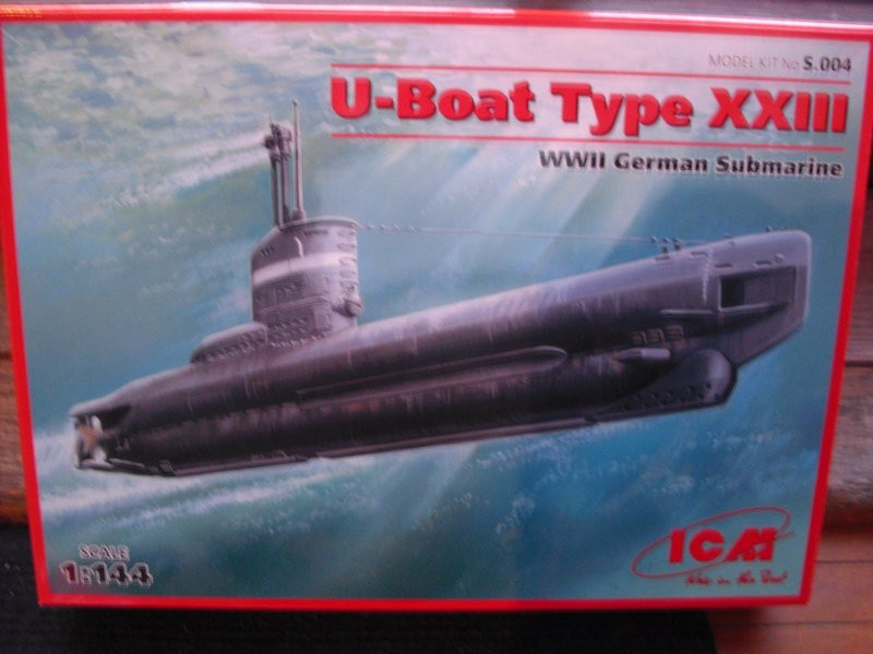 German WWII U-Boat Type XXIII