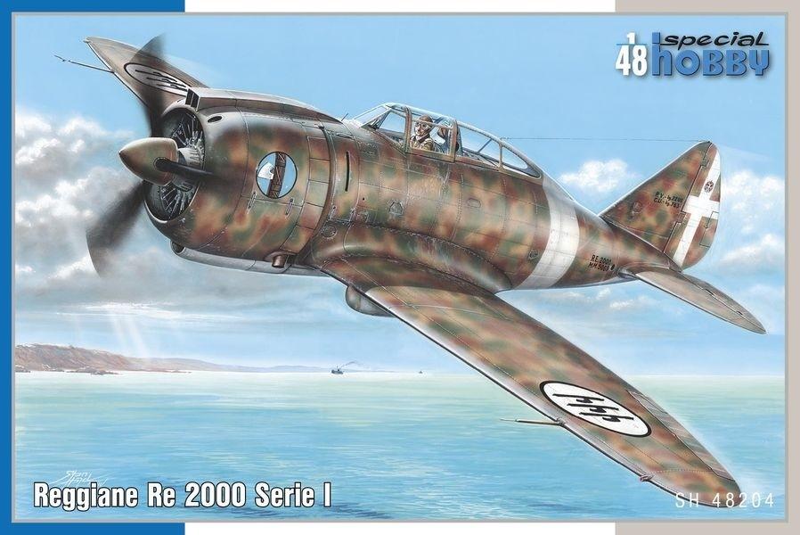 J20 Reggiane Re2000, Italy. NEW TOOL