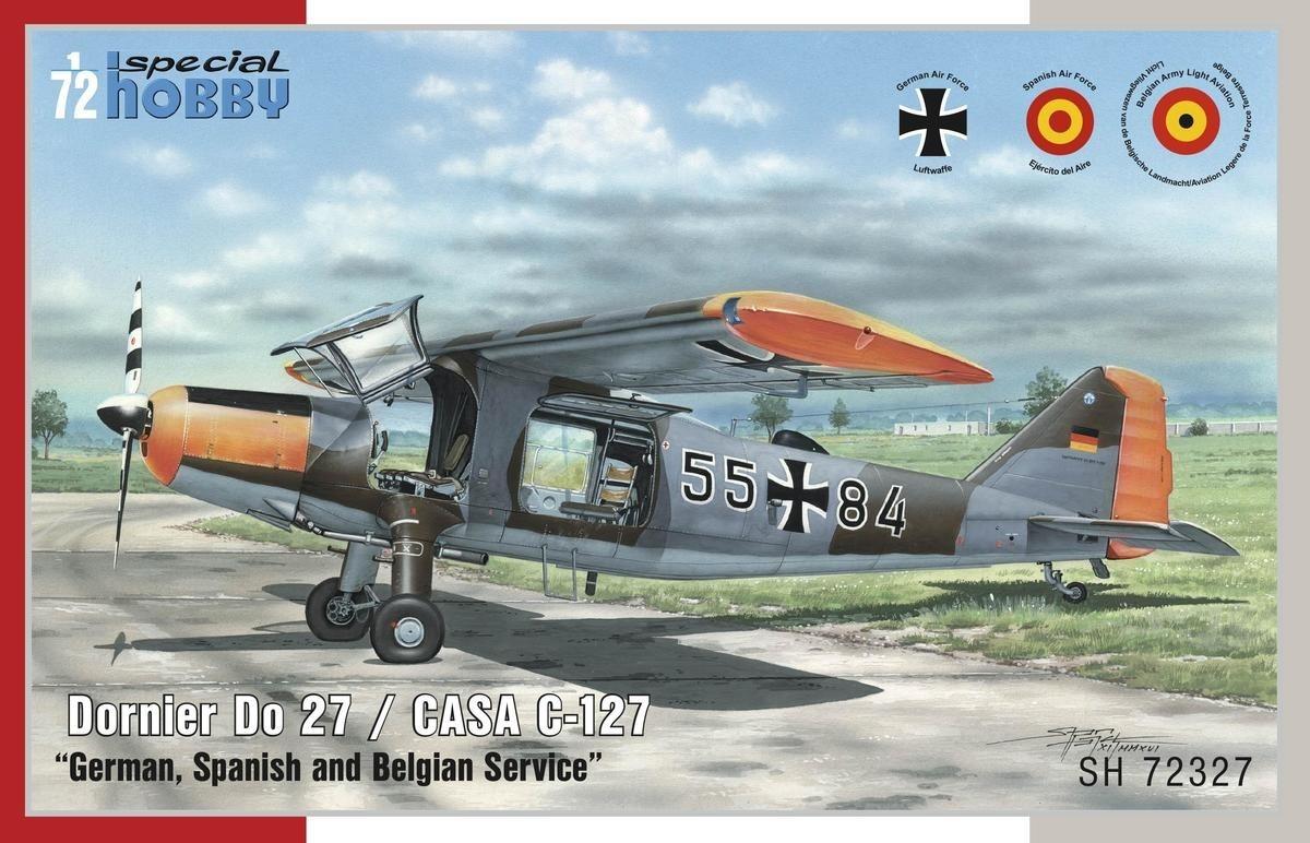 Dornier Do-27 DE, ES and BE Service (Armens Fpl 53)