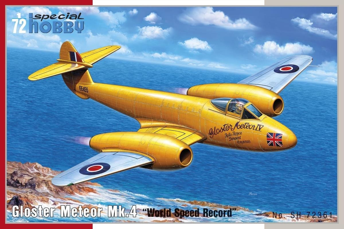 Gloster Meteor F.4 World Speed Record