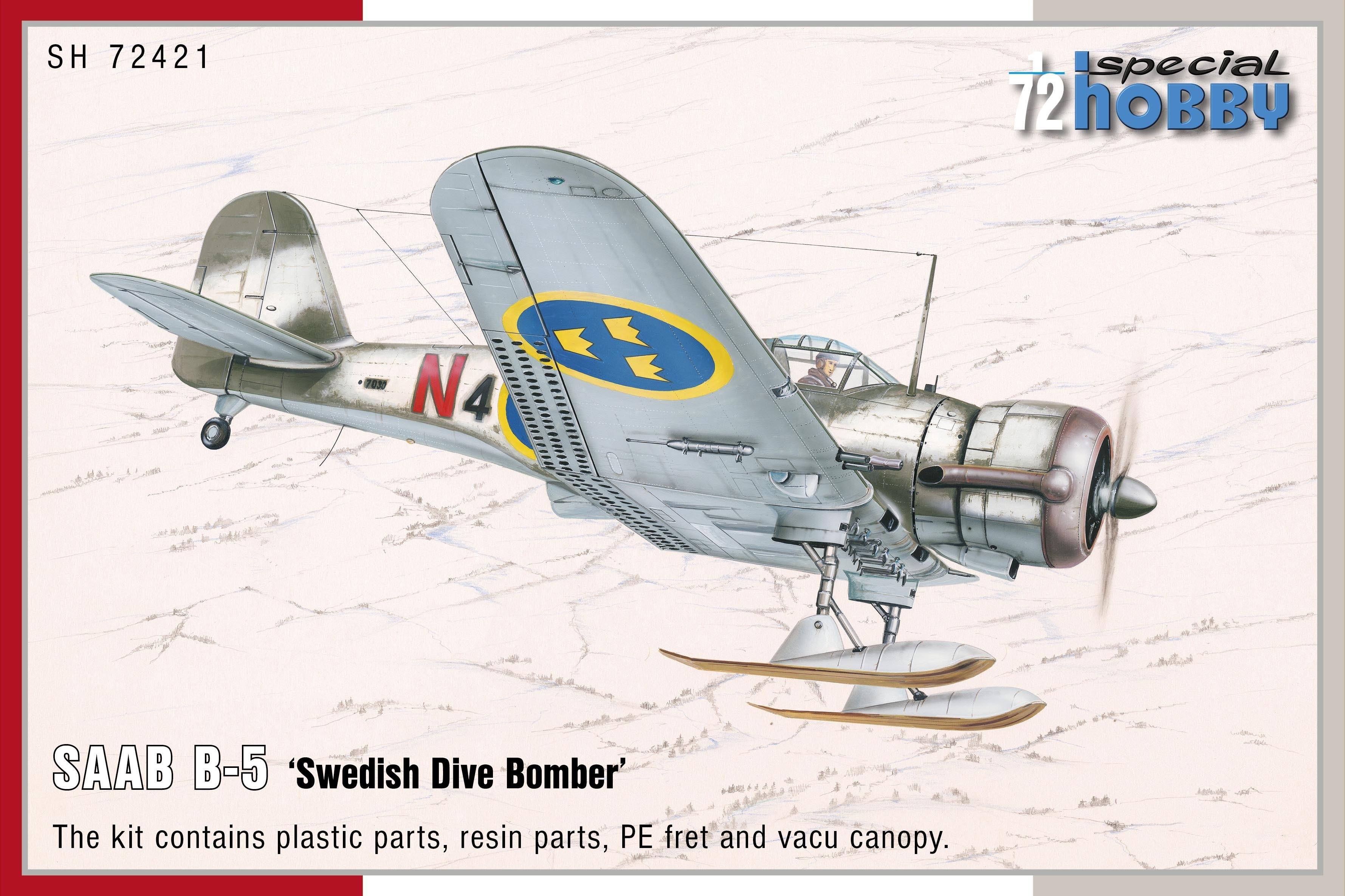 B5 Swedish Dive Bomber Northrop