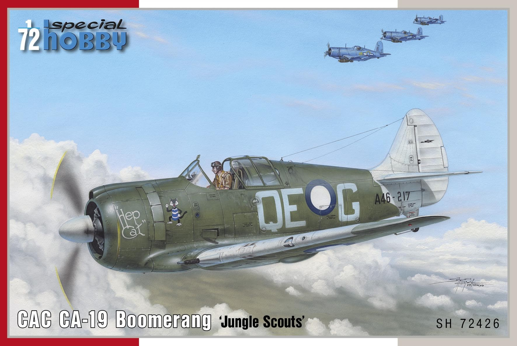 CAC CA-19 Boomerang,Flying Scouts