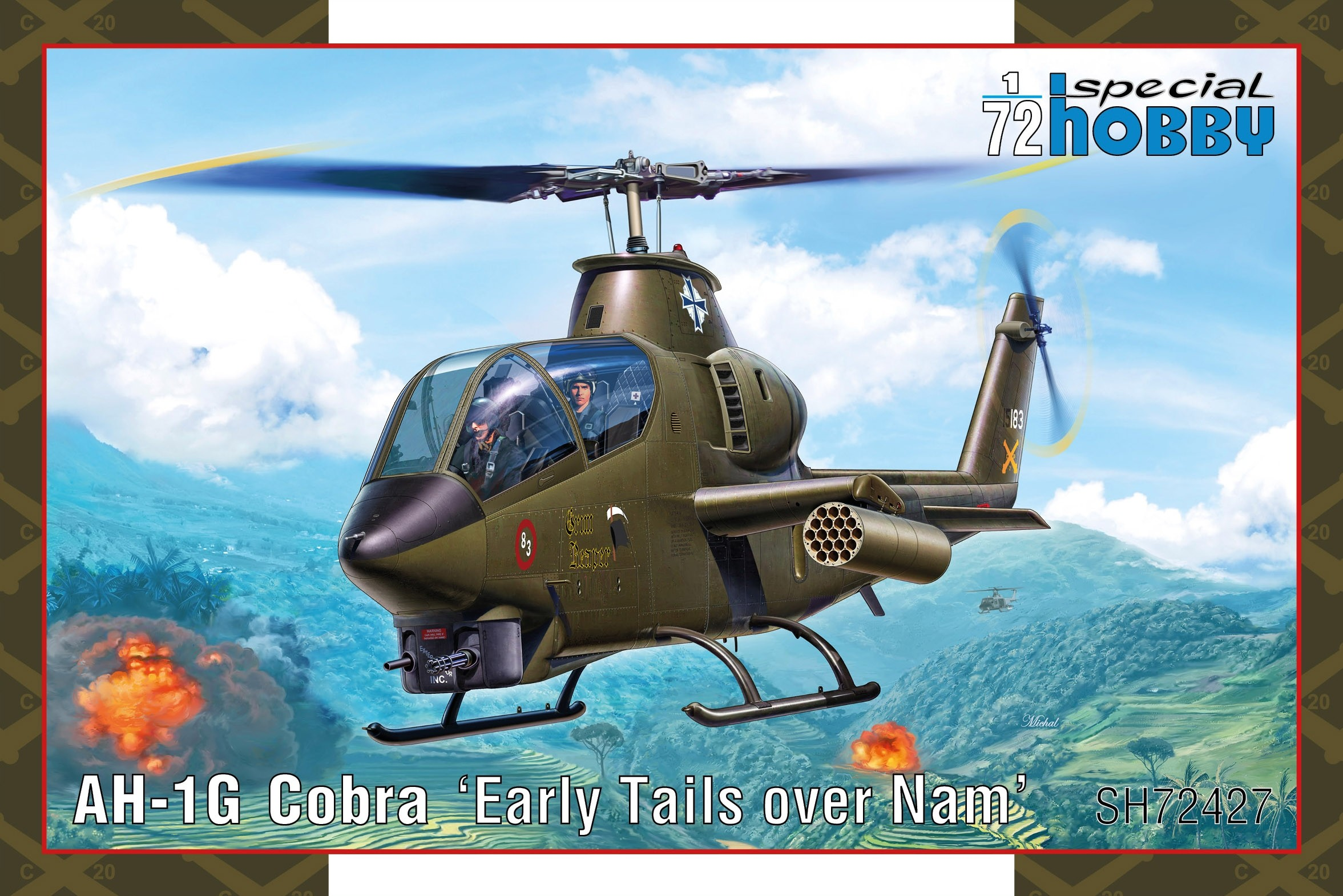 Bell AH-1G Cobra, Early Tails Over Nam