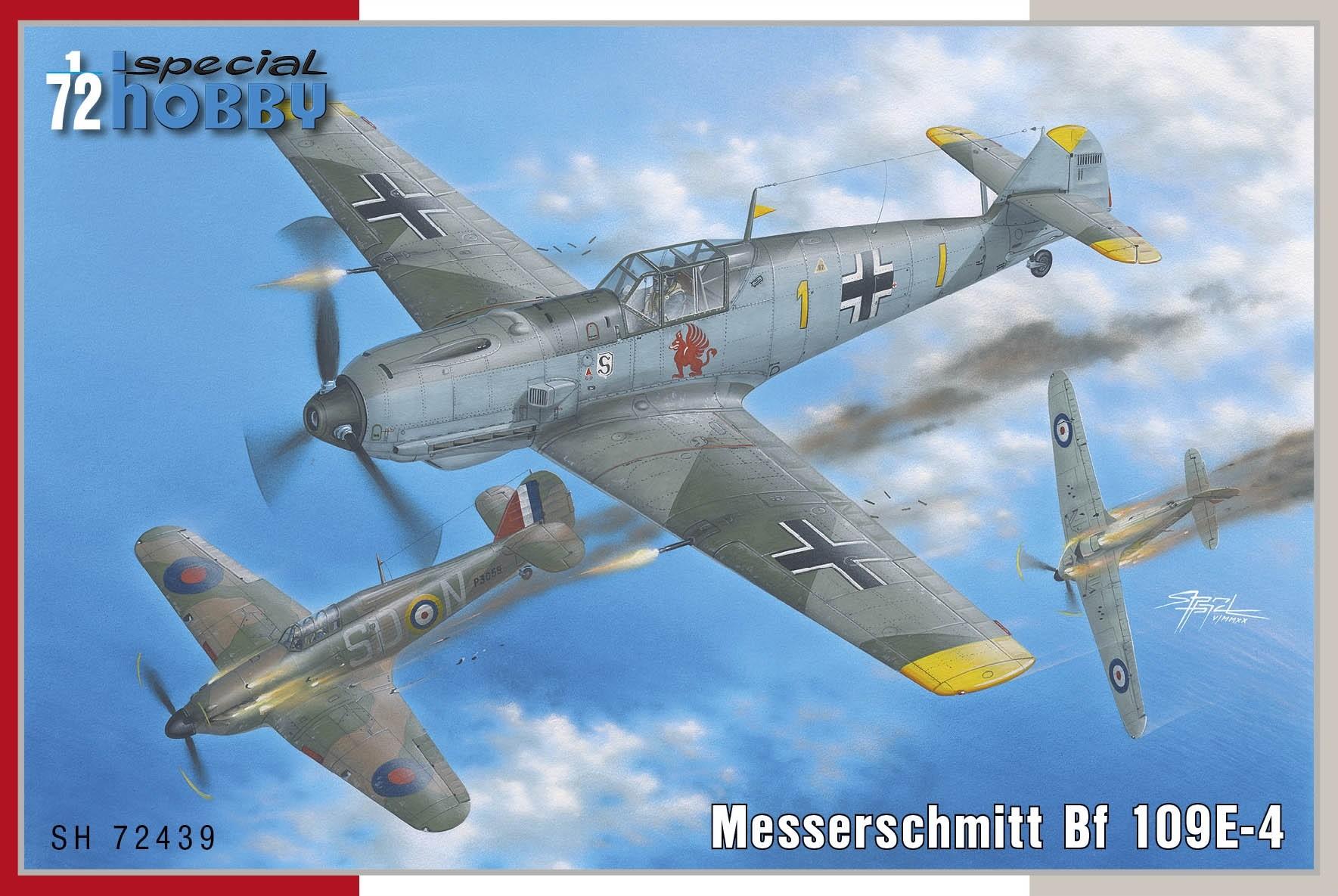 Bf109E-4 G.Schopfel & H.Wick