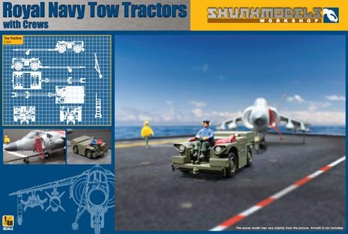 Royal Navy Tow Tractors with Crew