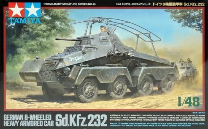 SdKfz 232 8-Wheeled Heavy Armored Car