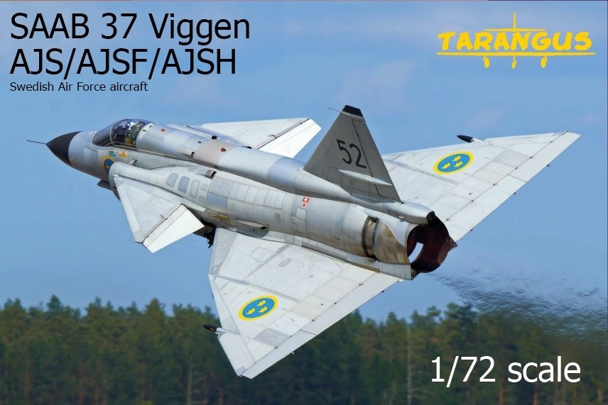 SAAB 37 Viggen AJS/AJSF/AJSH Recce Viggen