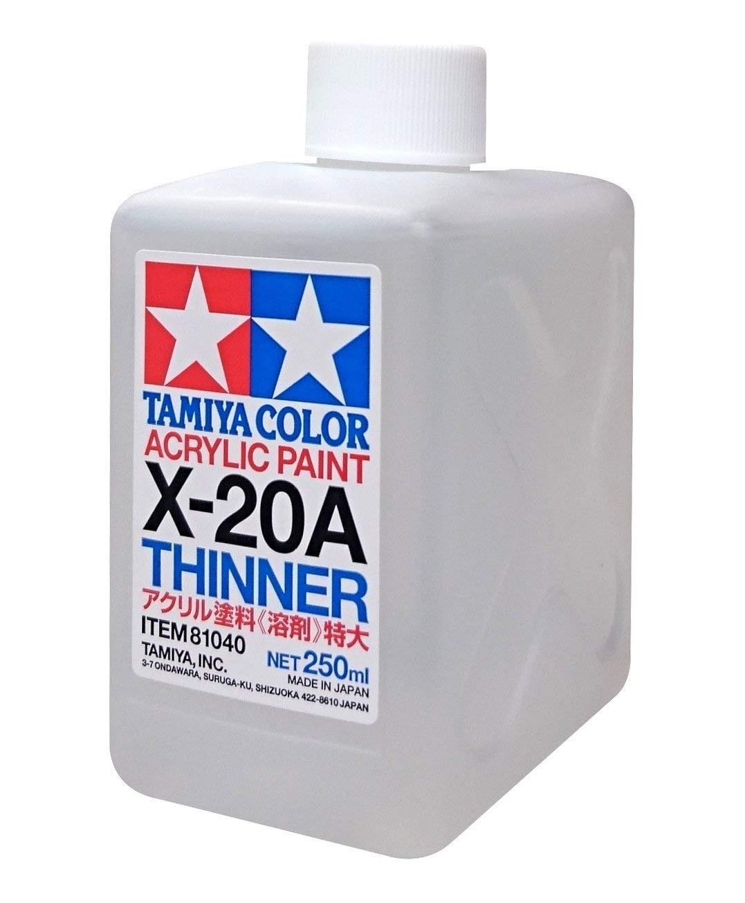Acrylic paint thinner X-20A(250 ml)