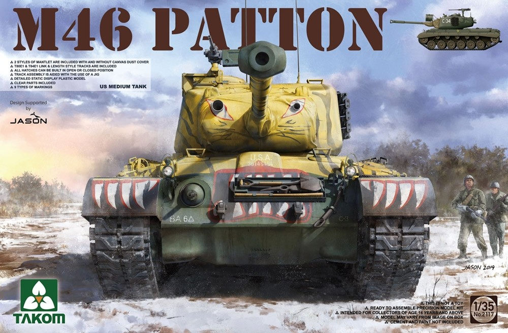 M46 Patton US Medium Tank