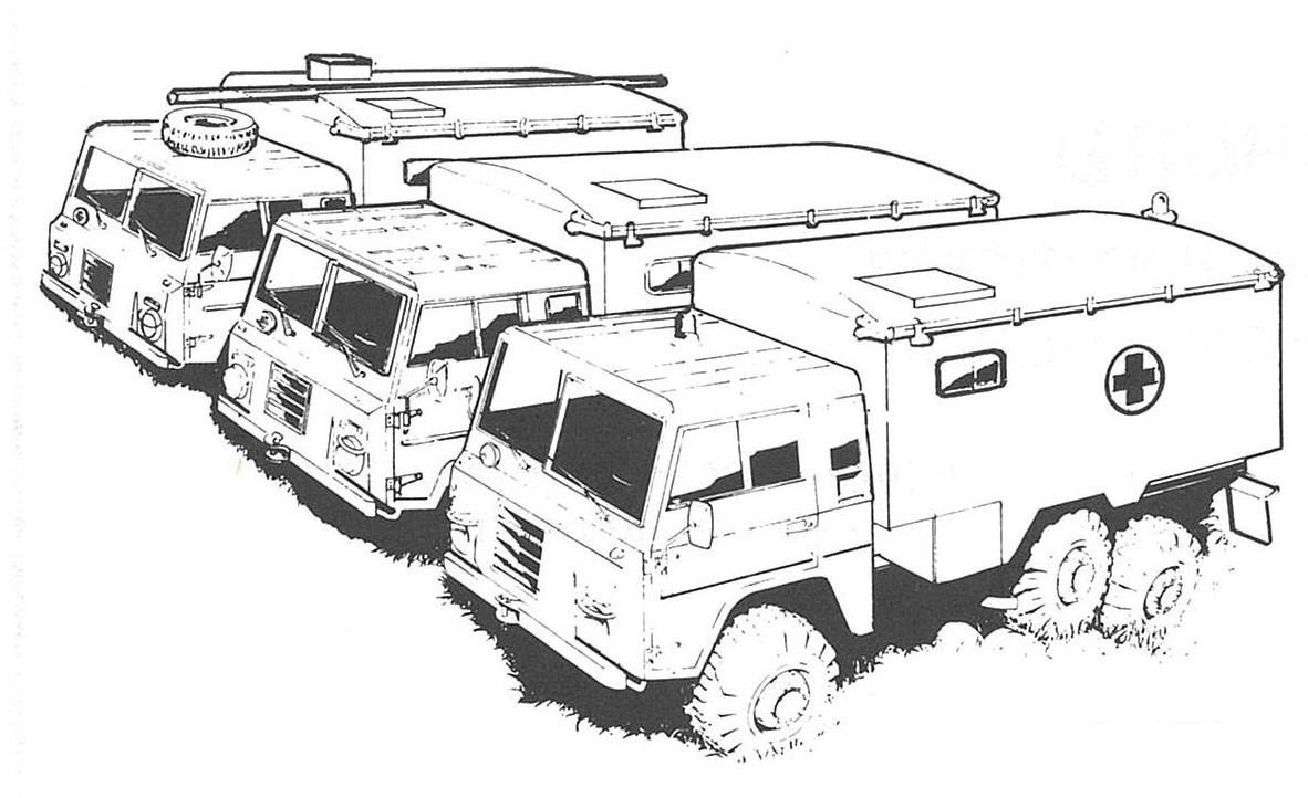 Volvo C304 TGB 1312-1316 (5 versions)