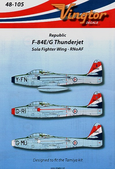 F-84E/G Thunderjet (3) Sola Fighter Wing