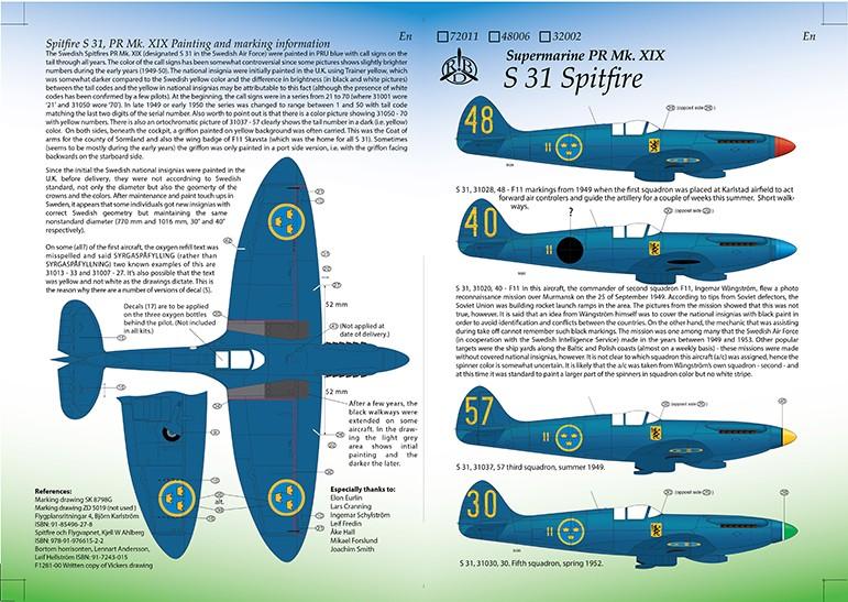 S31 Spitfire PR Mk.XIX