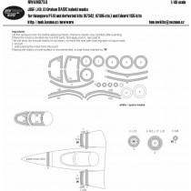 Saab J35F/J (O,S) Draken masking set /has)