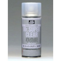 Klarlack halvblank, 170 ml Mr. Super Clear, aerosol