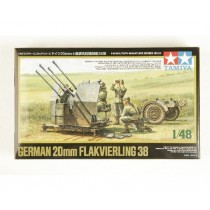 German 20mm Flakvierling 38
