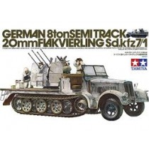 German 8 ton half-track SdKfz 7/1