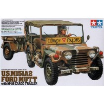 M151A2 Ford Mutt with trailer