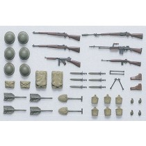 US infantry equipment all WWII set A