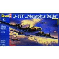 B-17F Flying Fortress Memphis Belle NEW TOOLING
