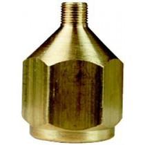 1/4 tum Compressor adaptor w bleed