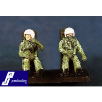 US modern pilots (F-104, F-4 etc.) seated, 2 pcs