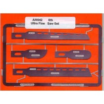 4 Ultra Fine stainless steel saws in 5 thou for No.3 handle