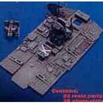 Ju87D/G Stuka cockpit set HAS