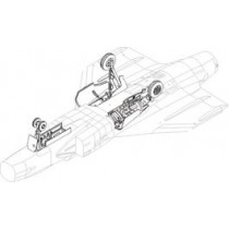 JAS39A/C Gripen undercarriage set ITA