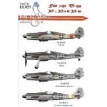 Fw190D-9s JG 2, JG 6 and JG 301