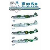 Bf109K-4s JG 3, JG 27 and NJG 11