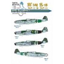 Bf109K-4s JG 3, JG 27 and JG 53