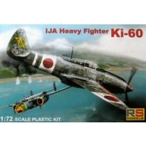 Ki-60A IJA heavy fighter (home defense)