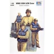 USN LCM crew WWII