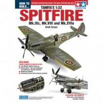 How to build Tamiyas 1:32 Spitfire Mk.IXc, VIII & XVIc