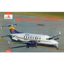 Beechcraft 1900D Mesa Airlines (wider fuselage than 1900C)