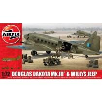 Douglas Dakota Mk.III with Willys Jeep NEW TOOL