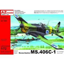Morane-Saulnier MS.406C1 Foreign Users ex-Azur