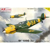 Bf109E-3 in Romanian service NEW TOOL