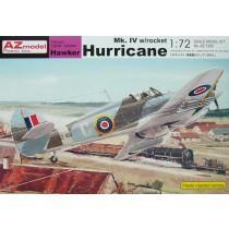 Hawker Hurricane Mk.IV w. rocket RAF, Yugoslavia