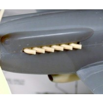 Spitfire PR Mk.XIX Tubular Exhausts AX