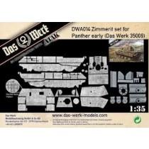 Zimmerit Set für Panther early (DB pattern)